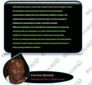 KiberaAID Testimonials-Victor